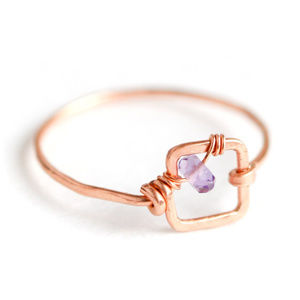 Mini Dawn Gem Ring